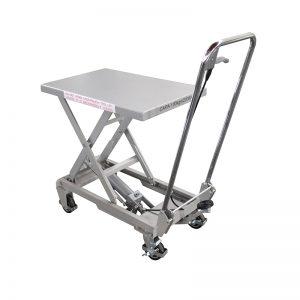 BSA10 Podizni stol od aluminija / ručne škare od nehrđajućeg čelika
