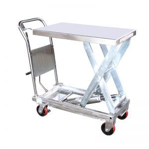 YSG35D stainless steel lift table