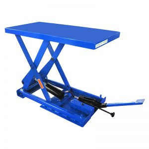 FBX50 stationary foot pump scissor lift table